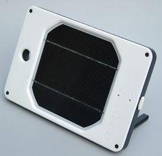 Joos Orange Portable Solar Power for some high tech camping
