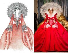 "Designed by EIKO ISHIOKA for Julia Roberts in "" Mirror Mirror"" (2012)"