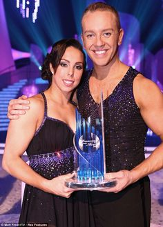 Olympic gymnast Beth Tweddle and her partner Daniel Whiston won Dancing On Ice 2013!
