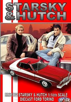 Starsky and Hutch - Stars: David Soul, Paul Michael Glaser, Antonio Fargas. - Two streetwise cops bust criminals in their red-and-white Ford Torino, with the help of police snitch, Huggy Bear. 70s Tv Shows, Old Shows, Great Tv Shows, Movies And Series, Tv Series, Mejores Series Tv, Capas Dvd, Starsky & Hutch, Childhood Tv Shows
