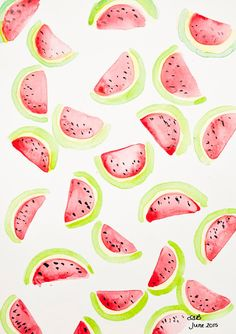 Watermelon Printable Planner Dashboard Freebie!! (Mrs Brimbles)