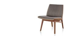 Clamshell Wood Lounge Chairs - Geiger