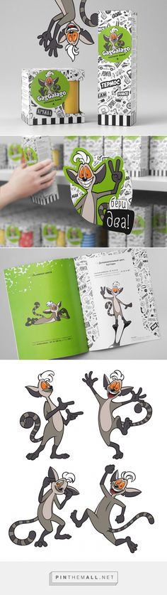 Gaggalago. Сувенирная продукция — Brandiziac - Брендинговое агентство curated by Packaging Diva PD. Packaging smile file : )