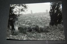 FOTOGRAFÍA DEL CONVENTO Y PUEBLO DE GIMERA 1966 ANTES DE SER REFORMADO 9 X 12