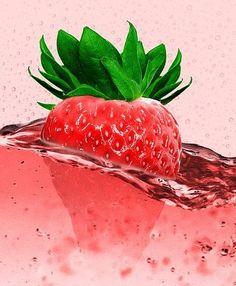 ...wenn es doch viel leckerer geht? Das Gedicht ist eine kleine Erdbeer-Hymne. Food Wallpaper, Wallpaper Backgrounds, Iphone Wallpaper, Strawberry Wallpaper, Fruity Wine, Wallpaper Fofos, White Zinfandel, Strawberry Juice, Fruit Photography