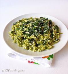 Di pasta impasta: Risotto con spinaci