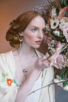 Wonderful florals created by Jo Flowers for Eclectic Eccentricity | Flowerona