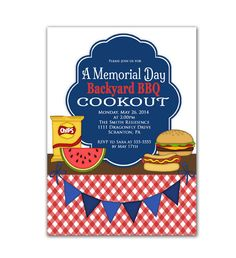 memorial day cookout recipes