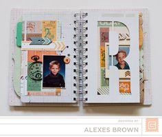 Alexes Brown - Carte Postal Mini Basic Grey, Mini Albums, Brown, Brown Colors, Extended Play, Mini Scrapbooks