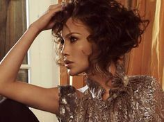 Short curly hairstyles look very sexy and classy. Choosing the right haircut is very important as it represent personality.  While selecting the short hair cut one should always keep in mind that it will decrease the styling options. The short curly hairstyles give you the very bold and modern look and caring the hair is