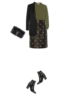 """Untitled #30"" by clment-picot on Polyvore featuring Givenchy, Alexander Wang and Yves Saint Laurent"