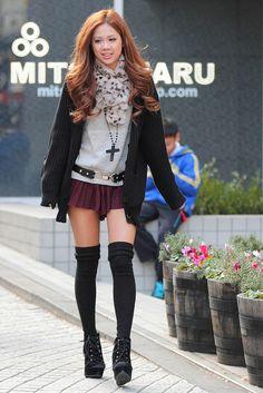 Shibuya, Tokyo street fashion