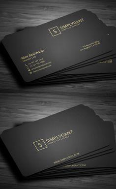 Luxurious Gold Business Card                                                                                                                                                                                 Mehr