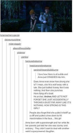 Anna's super powers