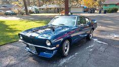 1972 Ford Maverick 2 Door 302 For Sale in Bend, Oregon Ford Maverick, New Tyres, Mercury, Oregon, Restoration, Ads, Doors, Gate