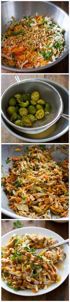 kiss recipe: Chopped Thai Chicken Salad