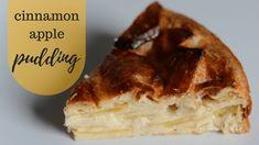cinnamon apple pudding