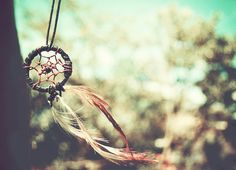 i love dream catchers and this is a great photography idea