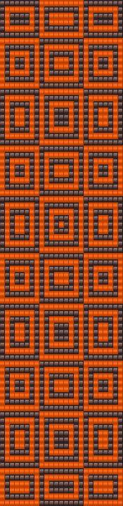 Bead Loom Pattern Seed Bead Patterns, Peyote Patterns, Beading Patterns, Bead Loom Bracelets, Beaded Bracelet Patterns, Bead Loom Designs, Mochila Crochet, Diy Accessoires, Peyote Beading