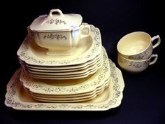 "1931 Art Deco ""Century"" dishware by Homer Laughlin.    http://futuresantiques.dreamhosters.com/items/index.php/drink-tableware/IMG_0010_003"