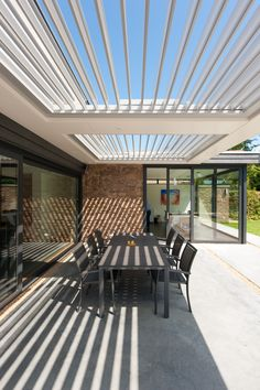Pergola For Front Of House Refferal: 5182671272 White Pergola, Modern Pergola, Deck With Pergola, Outdoor Pergola, Backyard Pergola, Pergola Plans, Outdoor Areas, Outdoor Rooms, Outdoor Living