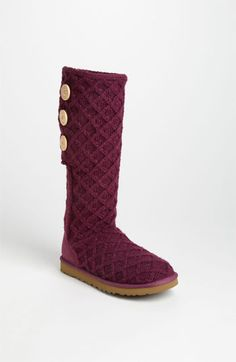 UGG® Australia 'Lattice Cardy' Boot (Women) available at #Nordstrom
