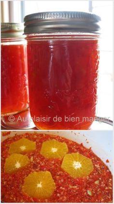 AU PLAISIR DE BIEN MANGER: Gelée de piments rouges