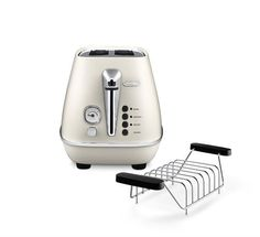 DeLonghi Cti Toaster Metallic Look White Vintage for sale online Toaster, Pure White, Kitchen Appliances, Pure Products, Metal, Vintage, Tray, Cooking Ware, Home Appliances