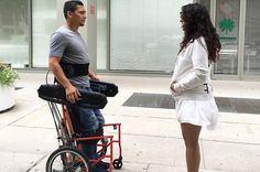 This new wheelchair lets users move while standing up or sitting down>>> See it. Believe it. Do it. Watch thousands of spinal cord injury videos at SPINALpedia.com