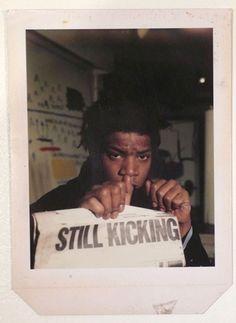 basquiat - still kicking