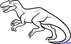 Realistic Dinosaur Coloring Pages | Dinosaurs Pictures and Facts