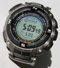 casio | Casio Feature Packed Pathfinder Digital WatchWatch shop, Mens watches ...