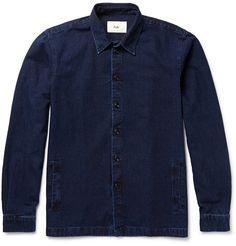 Folk - Denim Shirt Jacket|MR PORTER