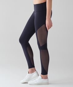 Lululemon Reveal 7/8 Tight, Color: Midnight Navy, Size: 8