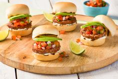 Pico de gallo isn't just for tacos or nachos. Put it on a burger!