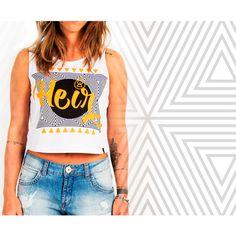 Estampa Symbols criada e desenvolvida para a marca Heir.