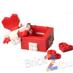 Lego Custom Valentine's Day Box based on 40029 by Brick2you