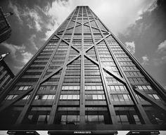 """¿Hasta dónde estáis dispuestos a subir?  John Hancock Building """"stollerizado"""" Foto: Ezra Stoller"""