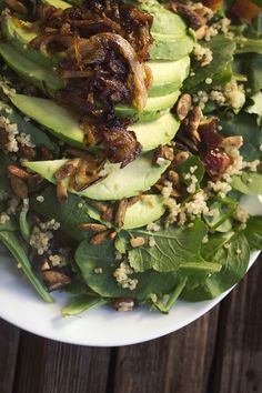 Kale, Avocado salads and Mango on Pinterest