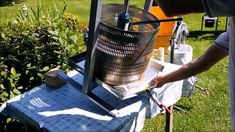 Stainless steel apple press - Hydraulic 50L