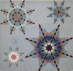 Original design inspired by antique quilts: Irish Patchwork Society Lone Star Quilt, Star Quilt Blocks, Star Quilts, Irish Design, Antique Quilts, Quilting Designs, Needlework, Patches, Arts And Crafts
