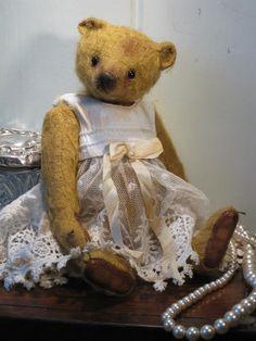an adorable teddy bear ...