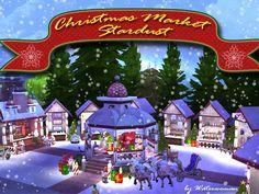 Stardust Christmas Market by Waterwoman at Akisima • Sims 4 Updates