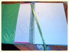 Capa de caderno/agenda A5 Namorados Ref: A0007