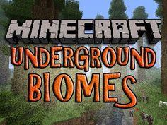 Minecraft UNDERGROUND BIOMES Mod | Episode 855