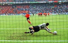 Euro 2000: i rigori di Italia-Olanda