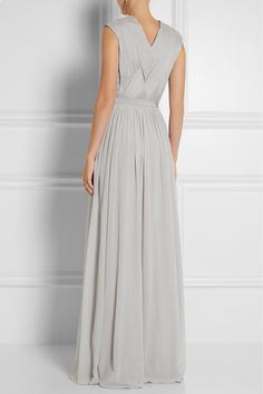 Matthew Williamson | Embellished stretch-silk georgette gown | NET-A-PORTER.COM