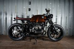 """BMW R80 Street Tracker """"Brownie"""" by Barn Built Bikes #motorcycles #streettracker #motos   caferacerpasion.com"""