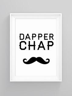 Dapper chap | print