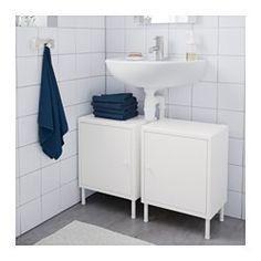 DYNAN Kaappi + ovi, valkoinen - 40x27x54 cm - IKEA